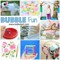Bubble activities. Bubble activities for toddlers. Bubble craft ideas. Fun with bubbles. Bubble activities for preschoolers. Bubble themed ideas for infants and toddlers. Art bubble day experiments
