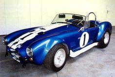 1969 Shelby Cobra...probably a bit more fun than driving a mini van.