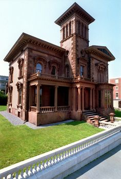 Victoria Mansion in Portland, Maine.