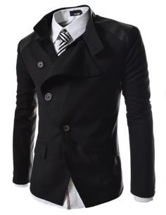 TheLees Mens casual china collar rider style slim blazer jacket Black Large(US Medium) TheLees,http://www.amazon.com/dp/B00BV1YQTS/ref=cm_sw_r_pi_dp_vtyssb0FCTJY67HR