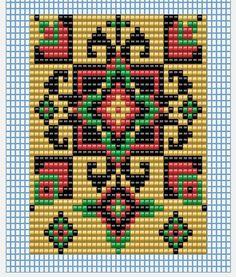 """Бисероплетение для на начинающих, схемы по бисероплетению - блог Натальи Кузьмы: МК по станочному плетению """"Гердана"""""""