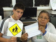 Blog do Inayá: Professora Ivanise Araújo trabalha Semana do Trânsito com alunos da EJA