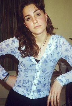 The Duchess of Cambridge. This was taken a while back, when Catherine was in university.