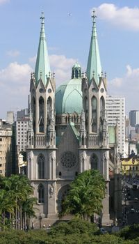 São Paulo - Catedral da Sé. Foto: Jefferson Pancieri/ SPTuris.