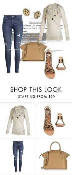 """""""Untitled #2691"""" by janicemckay ❤ liked on Polyvore featuring Ancient Greek Sandals, H&M and Michael Kors"""