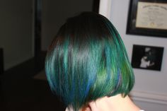 I wish it was my style! It looks great on Tiffany!! I think it should be called mermaid hair...  My green and blue ombre