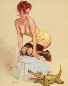 I want to be a pin up when I grow up..