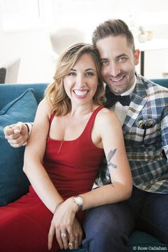 Rachel and Kyle Ford photographed by Rose Callahan in NYC on July 22, 2015