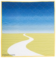 Modern Applique Illusions: River Bend (by Casey York)