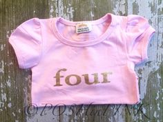 A personal favorite from my Etsy shop https://www.etsy.com/listing/291013265/birthday-toddler-girls-pink-with-gold
