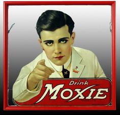 The oldest continually produced soda in the U.S. --and from Maine....and I really like Moxie!!! No one else does...but I do :)