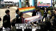 還記得2月初《秋刀魚》分享一則關於東京涉谷即將提出的「同性伴侶證明書」的新聞嗎?就在稍早今天下午,區議會決議通過這則條例案,明天4月1日開始實施,租屋、醫療、財產權將等同結婚關係的效力。