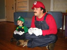 Parenting, you're doing it right. | TarskiBlog.com #cosplay #videogames #supermario