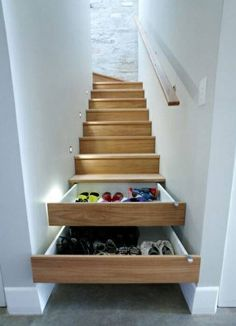 Love this storage solution I saw on the Cuckooland site, no more excuses for shoes all over the hallway!