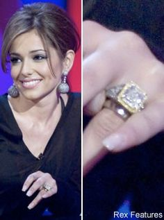 Cheryl Cole, Celebrity Engagement Rings, celebrity photos, Marie Claire