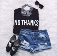 fashionsensexoxo:  Get this cute outfit right here !