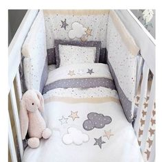 New Baby Προίκα Σετ 3 τεμ. Little Stars 50391500