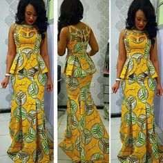 The Gbemisola African print dress African maxi dress Ankara maxi dress african clothing tribal prints african skirt prom dress USD) by FashAfrique Ankara Skirt And Blouse, African Maxi Dresses, African Dresses For Women, Ankara Dress, African Attire, African Wear, African Women, African Skirt, African Outfits