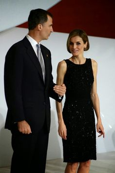 MYROYALS&HOLLYWOOD FASHİON:  King Felipe and Queen Letizia attended the Principe de Girona foundation awards, June 26, 2014