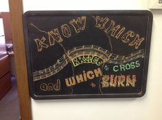 The St Of The Year Chalkboard For The Probation Office