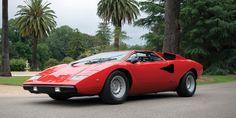 Forever Exotic: Lamborghini Countach LP400 Periscopo  - RoadandTrack.com