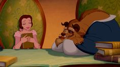 beauty and the beast books GIF by Disney