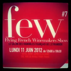 #few Flying French Winemakers Show @ Hôtel St James & Albany #Paris #salon 11 juin 2012