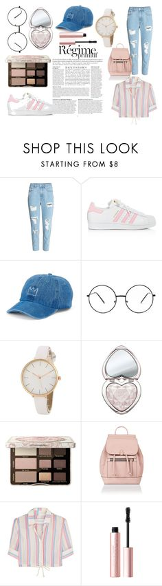 """Look tendance stylé"" by isaline-de-soie on Polyvore featuring mode, Anja, adidas, SO, Too Faced Cosmetics, Accessorize et Solid & Striped"