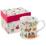 Rosanna 12 days of Christmas Mugs Set of 2 RI27301
