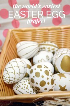 THE WORLD'S EASIEST EASTER EGG PROJECT