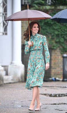 The Duchess Pays Tribute To Diana