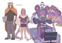 hordak and entrapta South Park, Steven Universe, She Ra Princess Of Power, Fanart, Cartoon Shows, Anime, Magical Girl, Dreamworks, Cute Couples