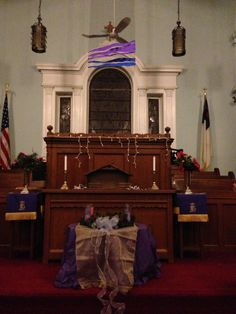 Series of Advent Banners from 2012