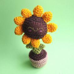 Amigurumi Sunflower Squishling | Flickr – Condivisione di foto!