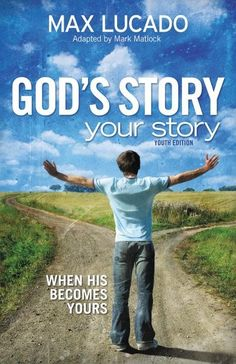 Max Lucado's newest book for teens, God's Story, Your Story: Youth Edition, uses New Testament stories, modern-day examples, and anecdotes found in his adult title God's Story, Your Story to help teen readers see the bigger, God-planned story in their lives.