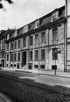 Кёнигсберг. Дом с мемориальной табличкой на König strasse 79.