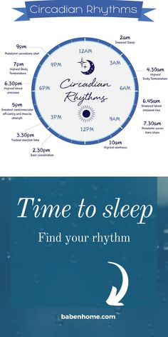 Our circadian rhythm is not fixed and can change as we age or due to outside influences - travel, stress levels, work schedule. Learn how to optimize your circadian rhythm to sleep more soundly and improve your overall health. . #sleephygiene #bettersleep #babenhome #sleep #parenting #kids #insomnia #sleepadvice
