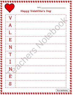 FREE Valentine's Day Activities product from Joy-in-the-Journey on TeachersNotebook.com