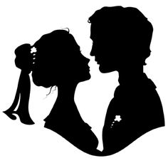 "Photo from album ""Силуэты двоих"" on Yandex. Ballerina Silhouette, Couple Silhouette, Wedding Silhouette, Silhouette Clip Art, Book Cover Background, Black Background Images, Cricut Wedding, Wedding Art, Manchester United Wallpaper"