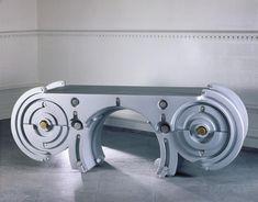 Banqueta - Schreibtisch futuristische italienische Home