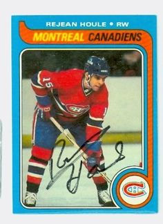 Rejean Houle AUTO 1979-80 Topps Canadiens by Regular Topps Issue. $9.00. This card was signed by Rejean Houle and authenticated by JSA - a leading 3rd party authenticator