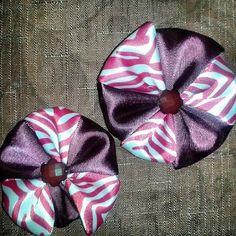Pin wheel clips for girls.