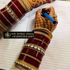 DM or WhatsApp us for Price 👇 Red Saree Wedding, Wedding Chura, Punjabi Wedding, Bridal Bangles, Wedding Jewelry, Chuda Bangles, Saree Wearing Styles, Sarees For Girls, Bridal Chuda