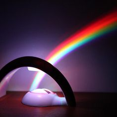 Rainbow In My Room Nightlight - $13