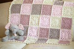 tigla bebek battaniyesi