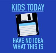 "This is true! I wonder what my 1st grade students would say if they saw a ""floppy disk"""