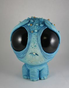 New monsters by Chris Ryniak for the Septenary show at Oh No Doom.