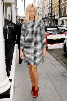 .g.p. in houndstooth.