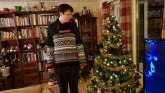Boys Sweaters, Christmas Sweaters, Fashion, Moda, Fashion Styles, Christmas Jumper Dress, Fashion Illustrations, Tacky Sweater