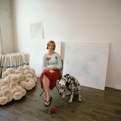 Visiting Artists - Tara Donovan.  W magazine